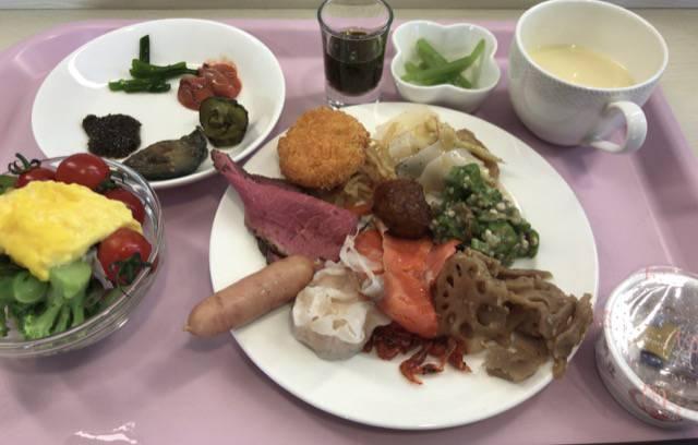 ハイパーホテルズパサージュの朝食