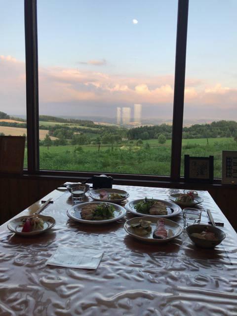 大地の宿 夕食
