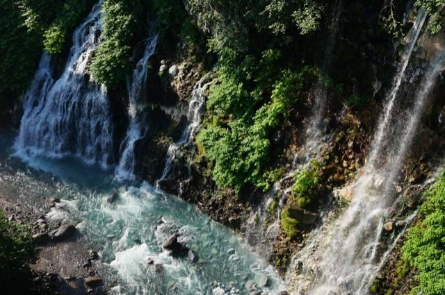 穴場の白髭の滝