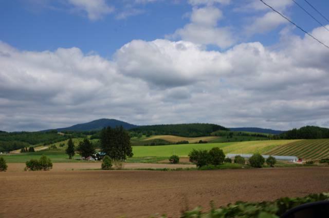 富良野から六郷の道のり