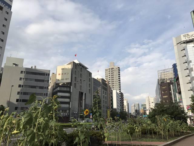五反田駅東口道路