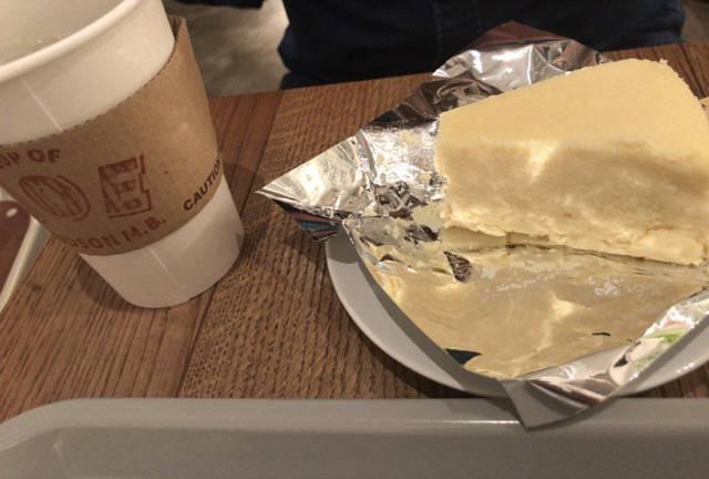 ハドソンマーケットベーカーズのニューヨークチーズケーキ