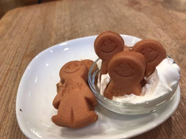 ミスターフレンドリーカフェのホットケーキ