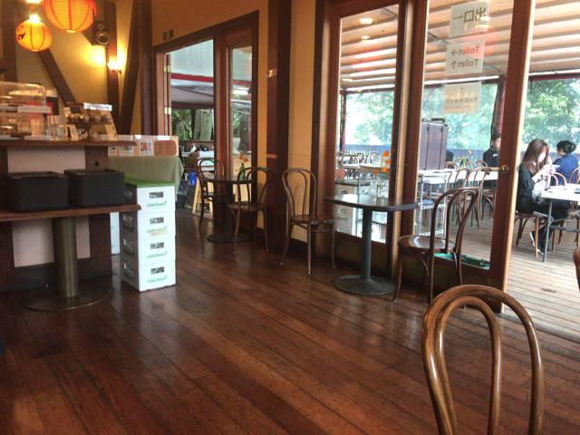 阿里山カフェ店内の様子