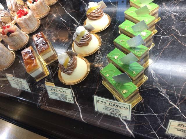 ケーキの種類