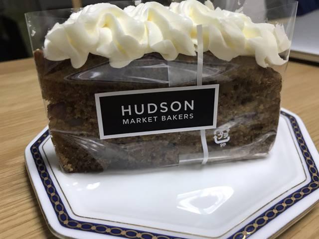 ハドソンマーケットベーカーズ のキャロットケーキ