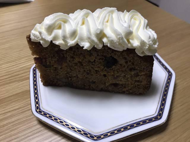 ハドソンマーケットベーカーズのキャロットケーキ