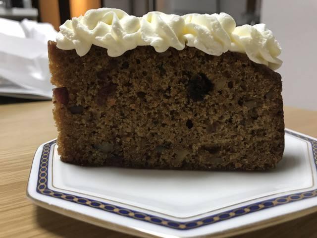 ハドソンマーケットベーカーズのキャロットケーキはお土産にピッタリ