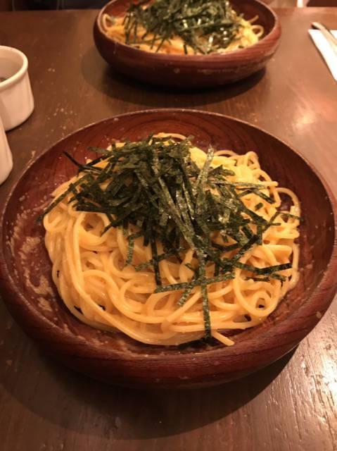 アンクルトムの納豆スパゲッティ