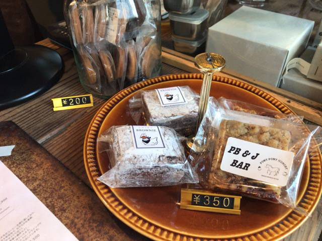 オニバスコーヒーの焼き菓子
