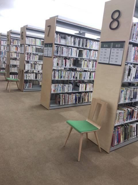 大崎図書館の館内の様子