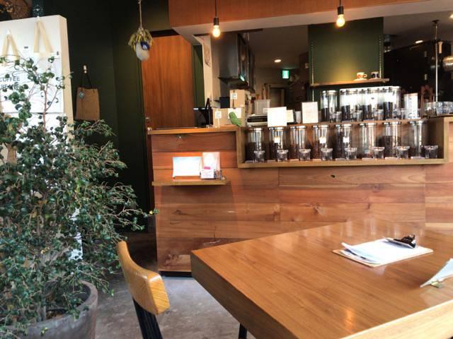 ジュビリーコーヒーアンドロースターの店内の様子