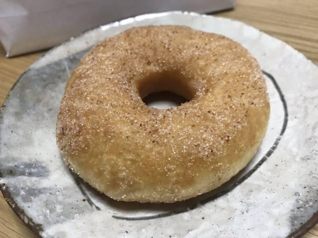 シナモンシュガードーナツ