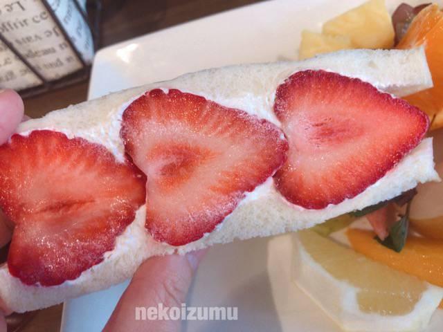 おすすめのフルーツサンドイッチ