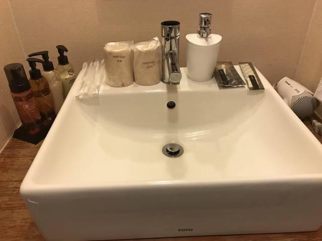時悠々楽游の洗面所