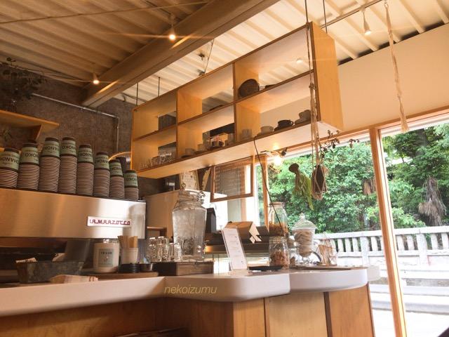 チャノココーヒー店内の様子