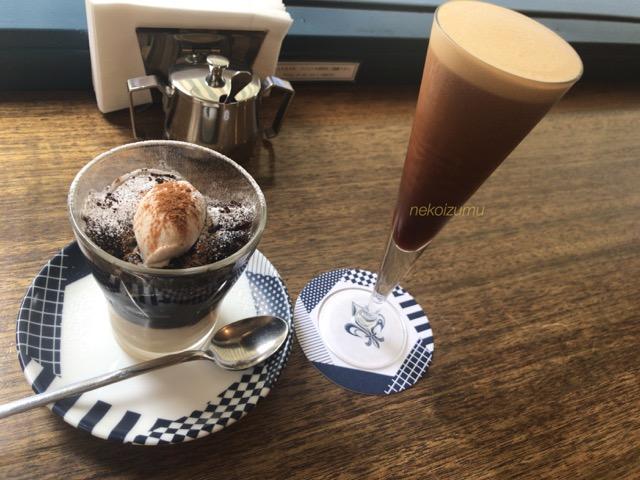 コーヒーゼリーとコーヒーシェケラート