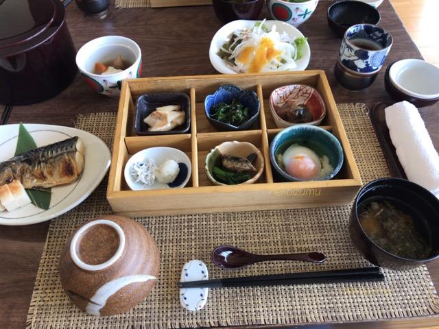 トスラブ館山の朝食
