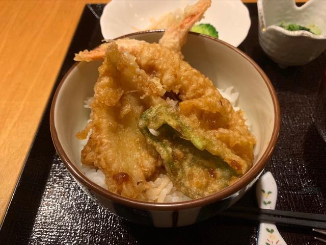 木都里亭の天丼