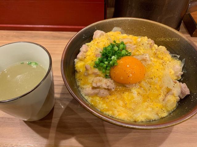 ○勝の塩親子丼