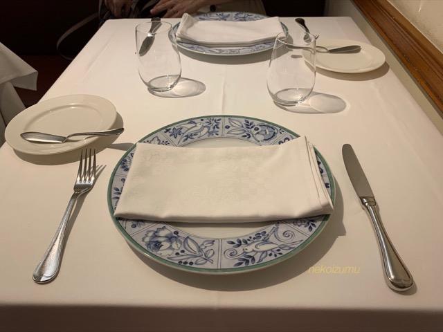 ラマティエールのテーブルセット