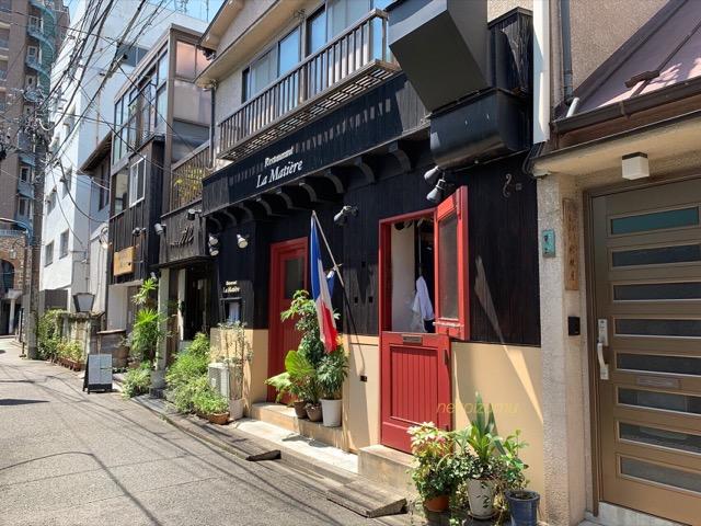 神楽坂のフレンチレストラン
