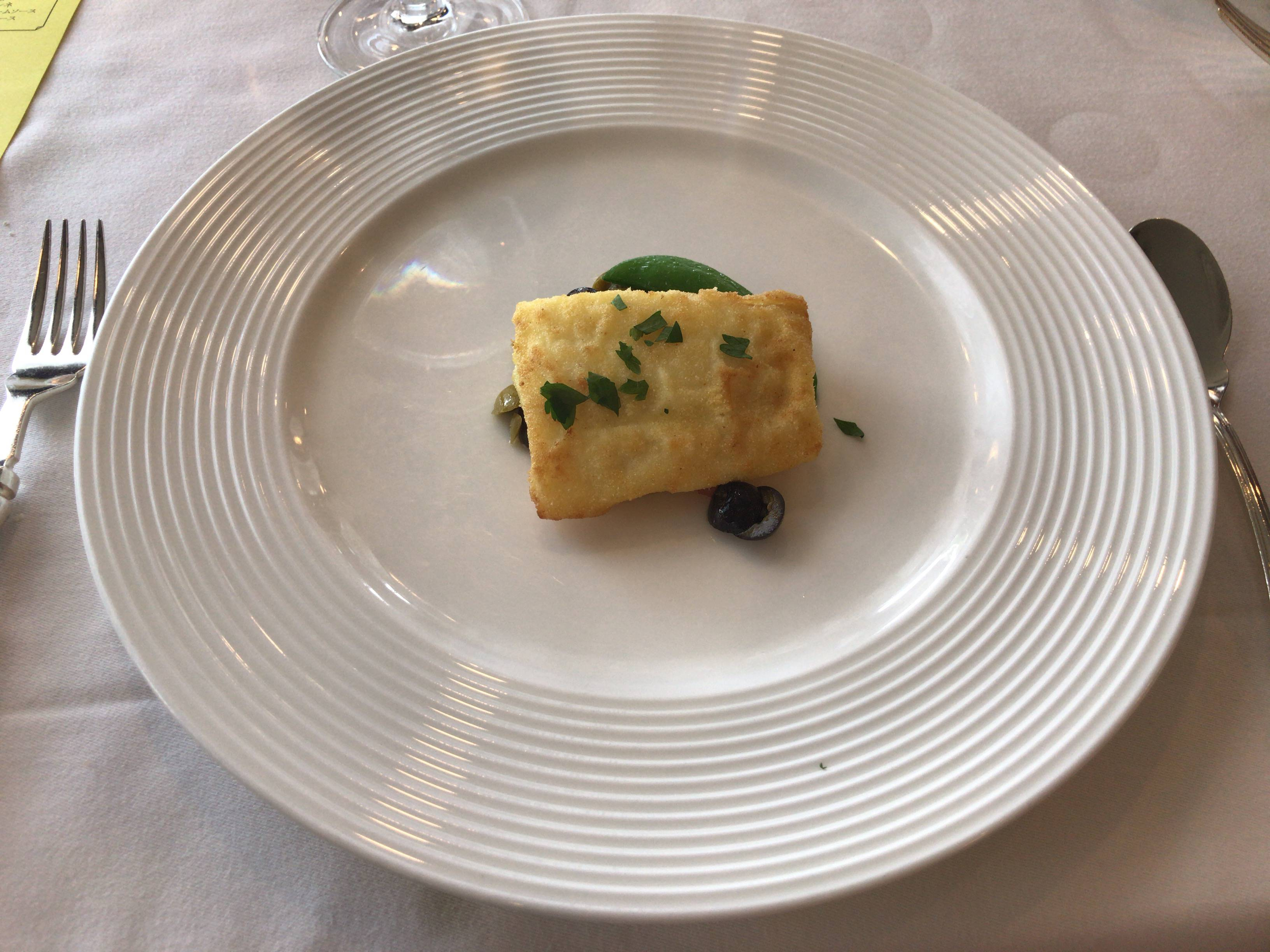 アルファーロの魚料理