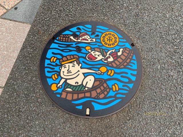 静岡のマンホール