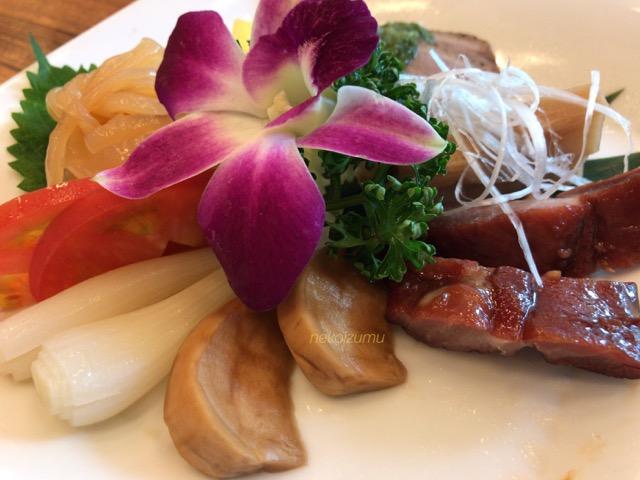 桜華樓の前菜