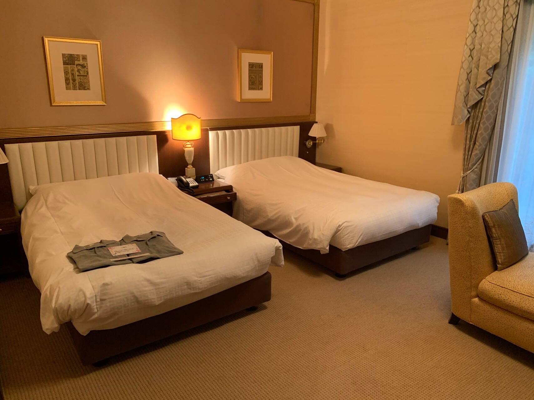 トスラブ箱根ビオーレの寝室