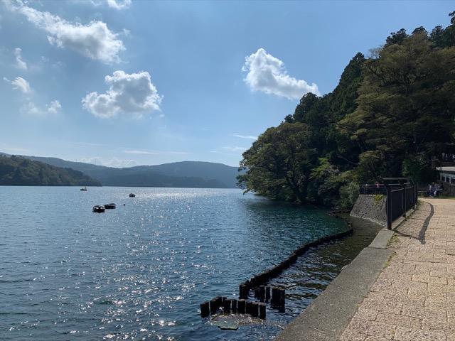 芦ノ湖の観光