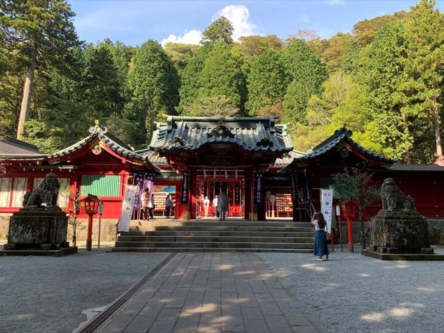 箱根神社の観光