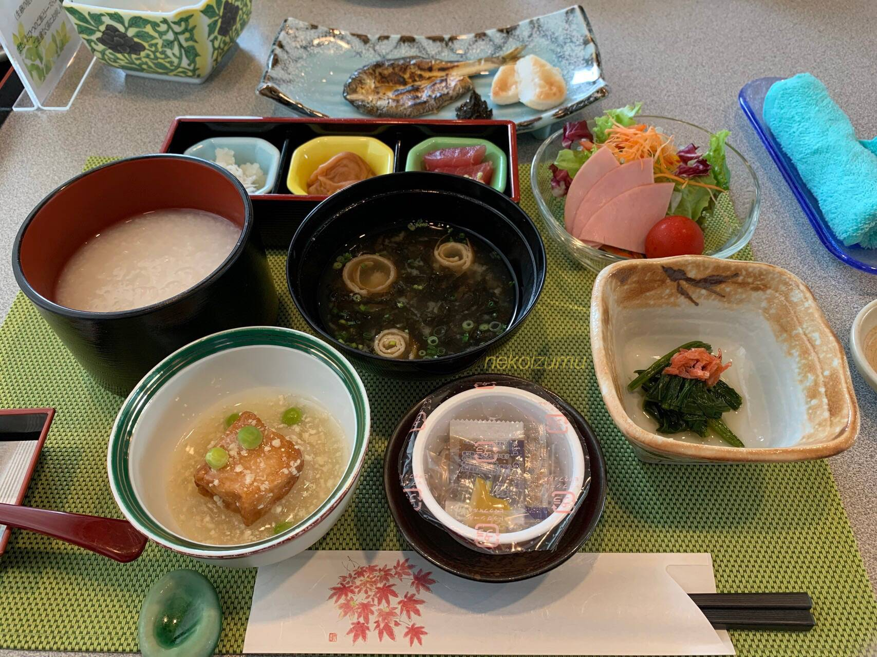 トスラブ箱根和奏林和食メニュー
