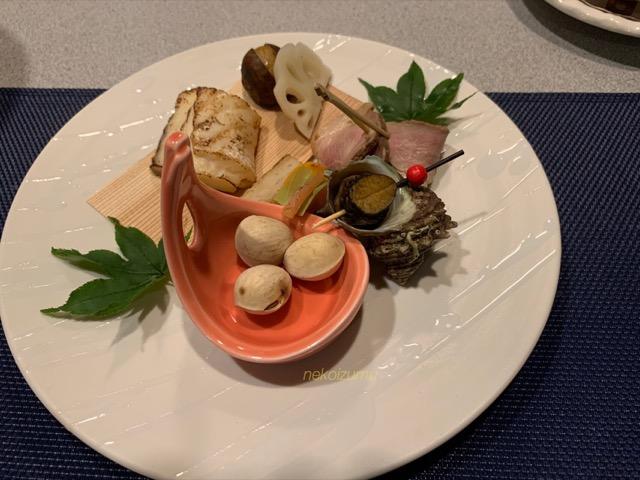 和奏林の夕食メニュー