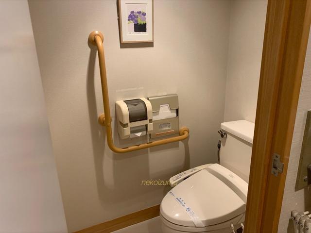 トスラブ箱根和奏林のトイレ