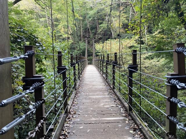 4号路の吊り橋