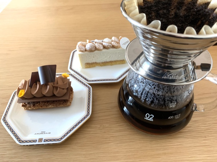 パリセヴェイユのケーキ